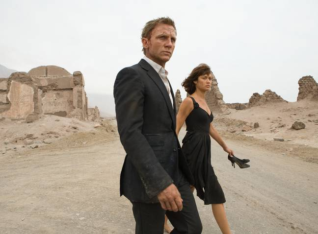 Quantum of Solace. (Sony Pictures Releasing)