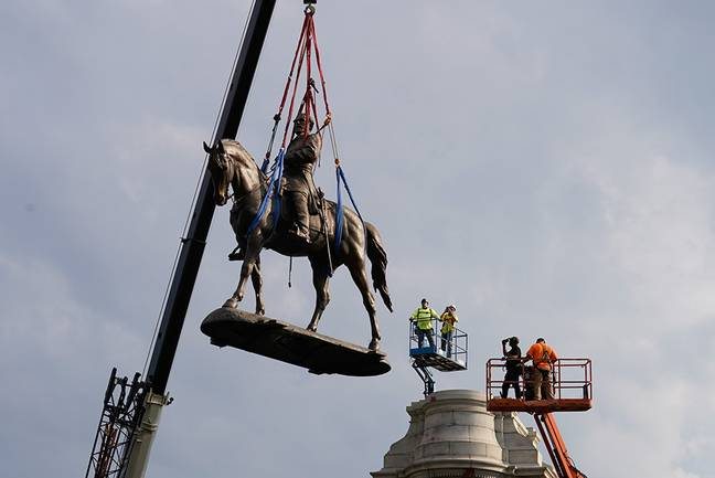 Emancipation Of Slavery Monument Unveiled Two Weeks After Robert E. Lee Statue Removed (Office of Virginia Governor Ralph S. Northam)