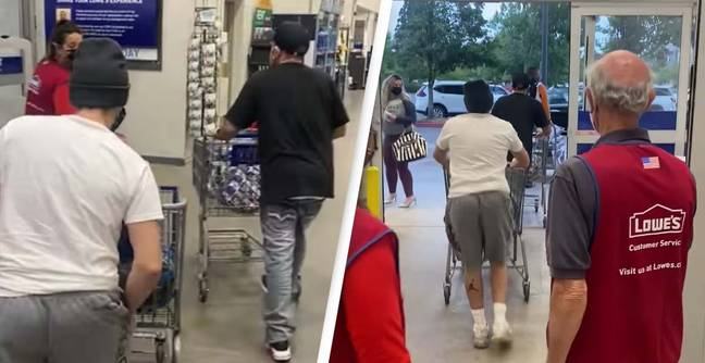 Thieves Walk Out With Full Carts As Employees Told 'Not To Confront' Shoplifters