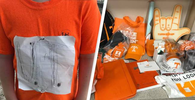 The Incredibly Wholesome Meaning Behind The University of Tennessee's Shirt