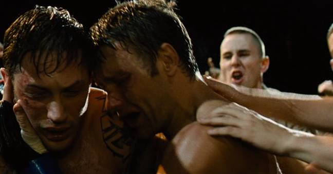Tom Hardy and Joel Edgerton in Warrior. (Lionsgate)