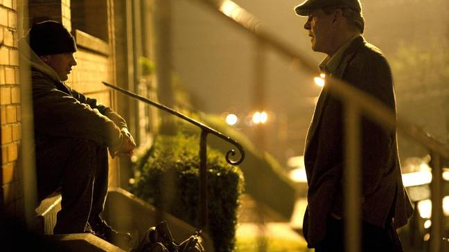 Tom Hardy and Nick Nolte in Warrior. (Lionsgate)