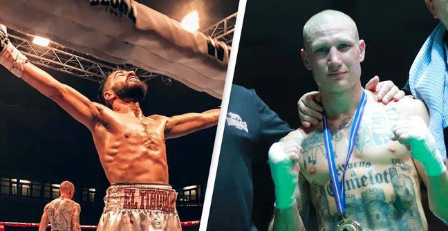 Italian Moroccan Boxer Beats Nazi-Tattooed Opponent For Title