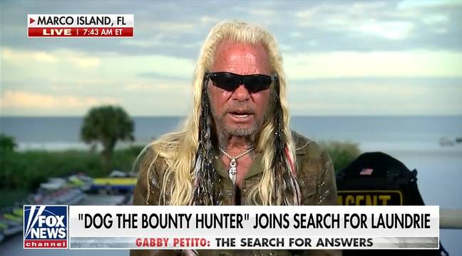 Dog the Bounty Hunter on the search for Brian Laundrie (Alamy)