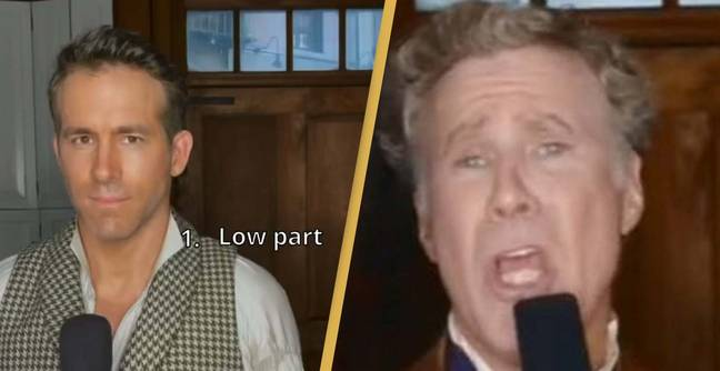 Ryan Reynolds And Will Ferrell Grace Kelly Duet Leaves The Internet In Stitches