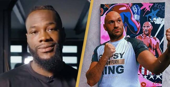 Deontay Wilder Sends Terrifying Message To Tyson Fury Ahead Of Fight