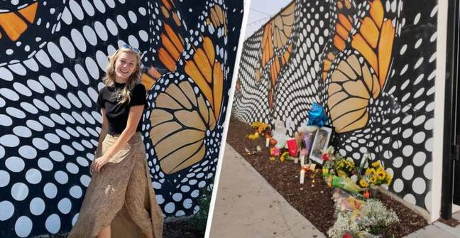Gabby Petito: Memorial Set Up At Location Of Petito's Final Instagram Post