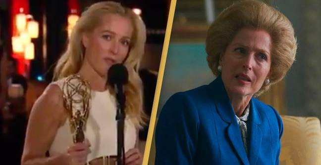 Gillian Anderson Won Her First Emmy In 24 Years Last Night