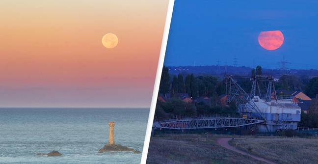 The Full Corn Harvest Moon Will Appear This Evening