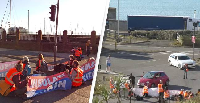 Insulate Britain Blocks Dover Ferry Terminal After Court Bans M25 Protest