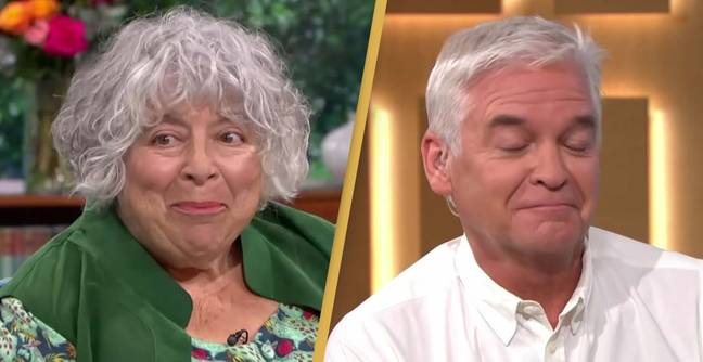 Miriam Margolyes Catches Phillip Schofield Off Guard With Comment About Him Being Gay