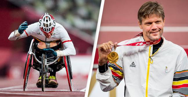 Paralympian Forced To Use Duct-Tape After Competitor Sabotaged His Wheelchair Still Wins Gold