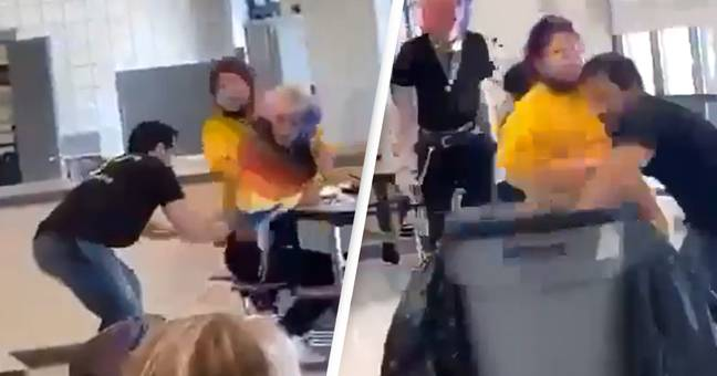 Student Facing Charges After Footage Shows Them Ripping Down Pride Flag At High School