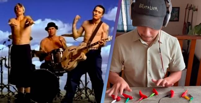 Amazing Footage Shows Man Using Chilis To Play Red Hot Chili Peppers Song