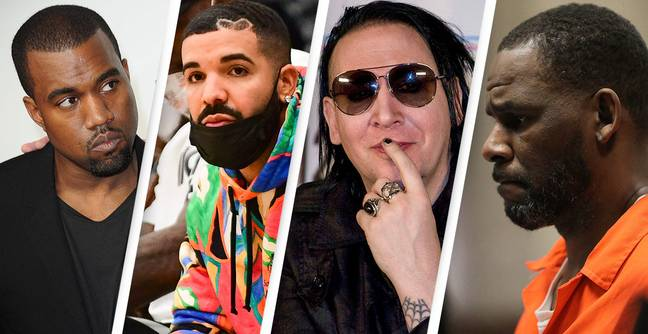 Kanye And Drake Contribute To R. Kelly And Marilyn Manson's Legal Fees Through Royalties