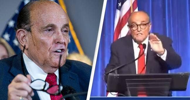 Rudy Giuliani Makes Bizarre Prince Andrew Statements In Outrageous 'Drunken' Speech At 9/11 Dinner
