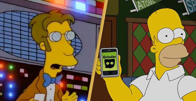 The Simpsons Kind Of Predicted Dating Apps