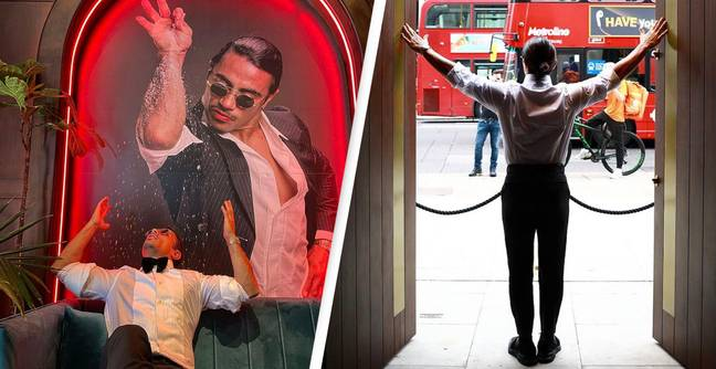 People Can't Believe How Much Salt Bae Is Charging For Steaks In His New London Restaurant