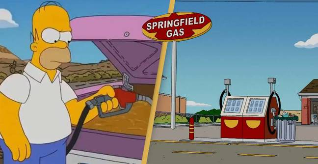 Fans Think The Simpsons Predicted The Fuel Crisis