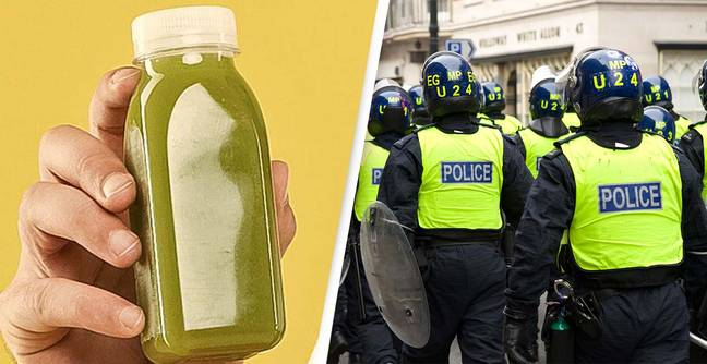 Smoothies With Anti-Police Slogans Inscribed On Them Recalled