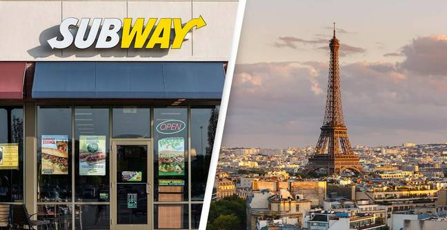 Subway Just Trolled France