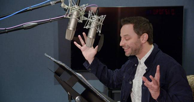 Nick Kroll voicing Uncle Fester in The Addams Family. (Universal Pictures)