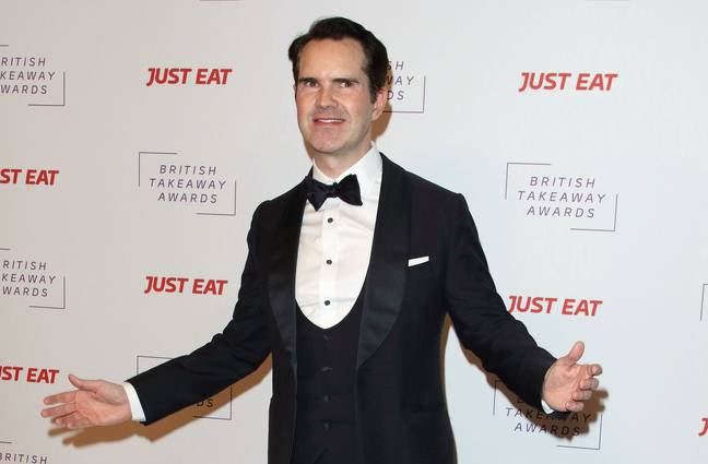 Jimmy Carr Has Heckler Removed From Tour - London, UK. 27th Jan, 2020. Jimmy Carr attends the British Takeaway Awards held at the Savoy Hotel, The Strand in London. Credit: Keith Mayhew/SOPA Images/ZUMA Wire/Alamy Live News