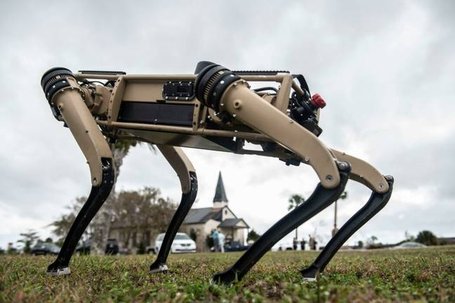A Q-UGV used by the US military (Alamy)