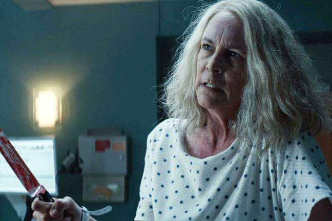 Jamie Lee Curtis as Laurie Strode (Alamy/Universal Pictures)