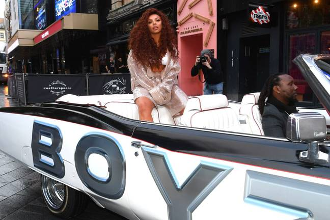 Jesy Nelson 'Blackfishing' PR Stunt? London, UK. 8th Oct, 2021. Jesy Nelson pictured at the Global studios in Leicester Square, to support Global's Make Some Noise Charity Day. Picture date: Friday October 8, 2021. Photo credit should read Credit: Matt Crossick/Alamy Live News