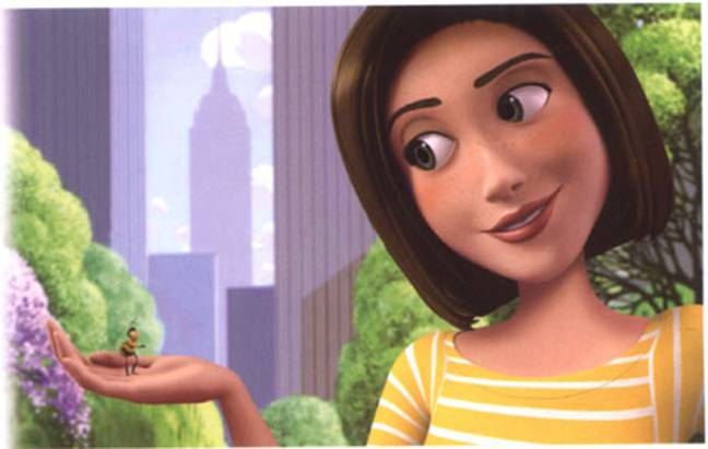 Still from Bee Movie (Paramount Pictures)