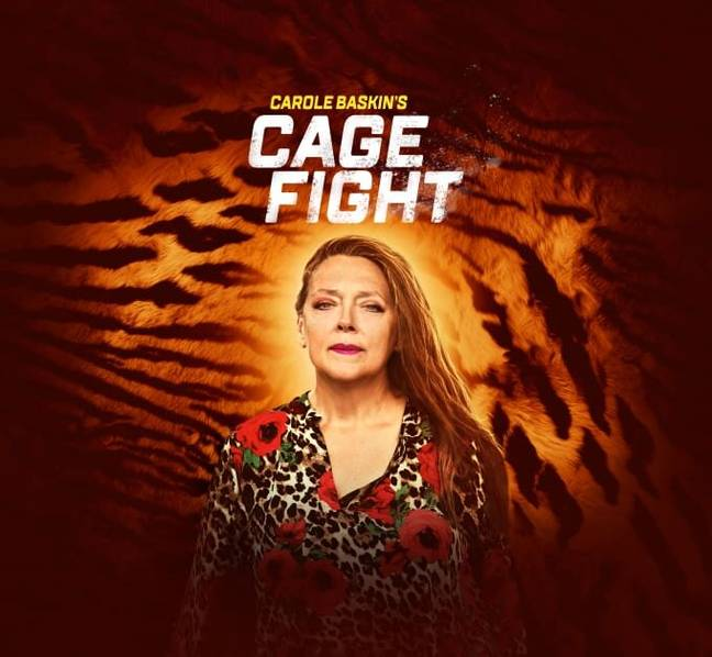 Carole Baskin's Cage Fight. (Discovery+)