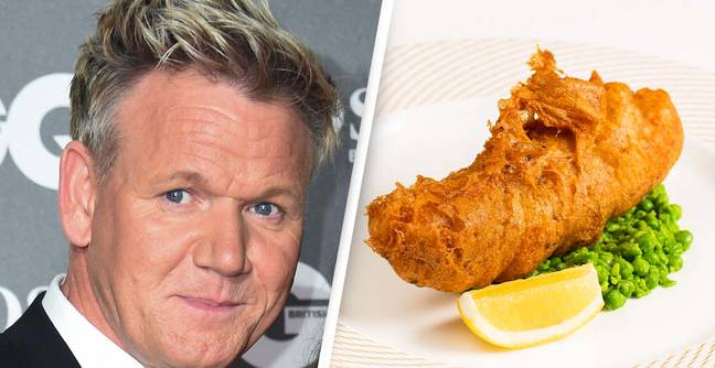 Gordon Ramsay Mocked Over Extortionate Fish And Chips
