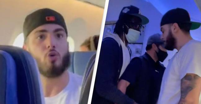 Anti-Masker Thrown Off Plane After 'Threatening To Break Someone's Neck' In Major Outburst
