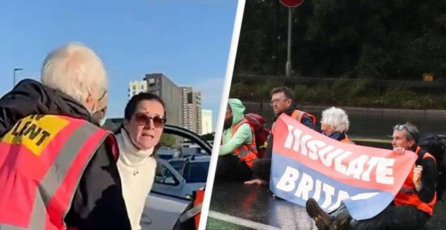 Desperate Driver Begs Protesters To Move So She Can See Mother In Hospital