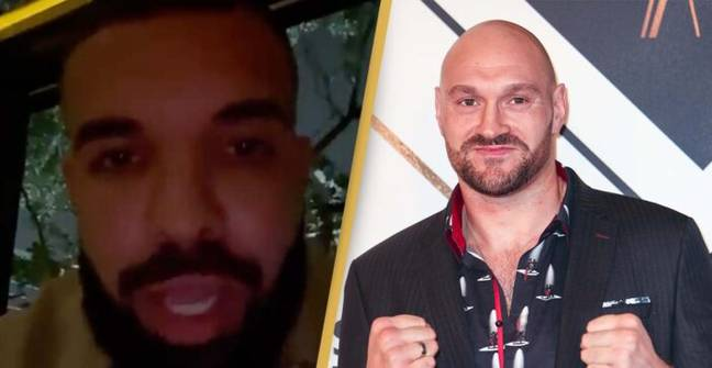 Drake Gives Heartfelt Support To Tyson Fury Ahead Of Deontay Wilder Fight