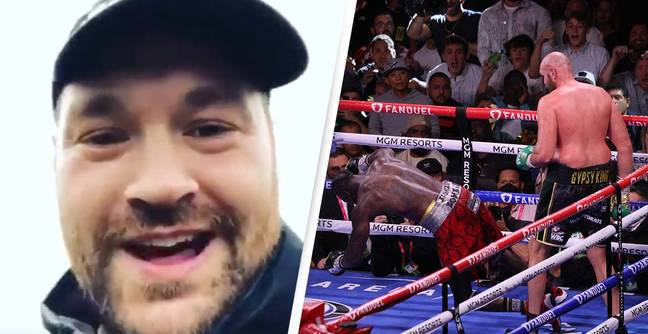 Resurfaced Tyson Fury Message To Deontay Wilder Shows Just How Far He's Come