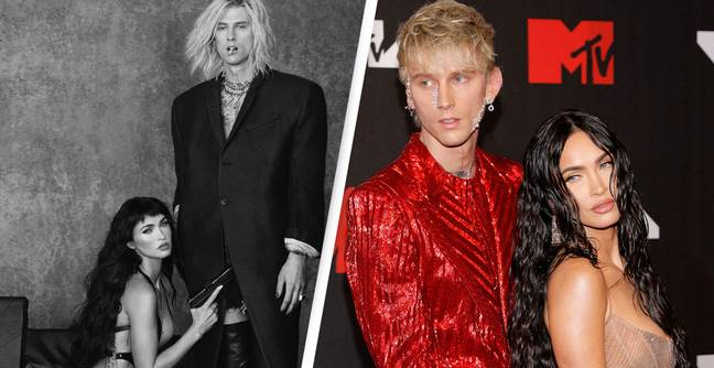 Megan Fox Discusses Relationship And Shocks Fans In Naked Shoot With Machine Gun Kelly