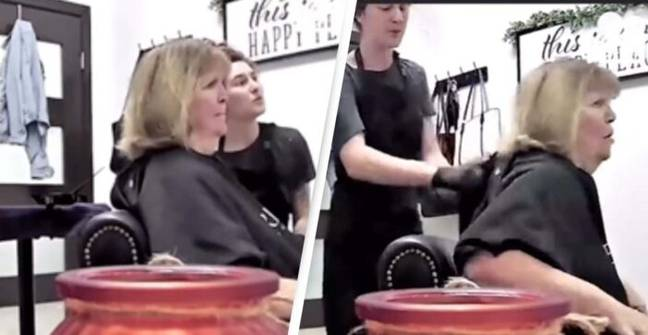 'Karen' Completely Freaks Out At Hairdressers In Heated Argument
