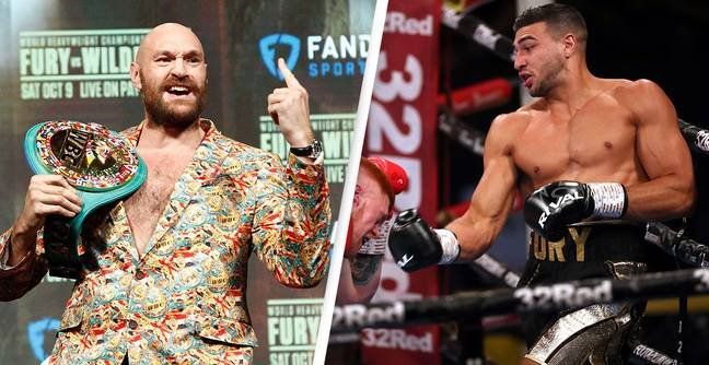 Tyson Fury Tells Brother Tommy He'll Have To Give Up Family Name If He Loses Jake Paul Fight