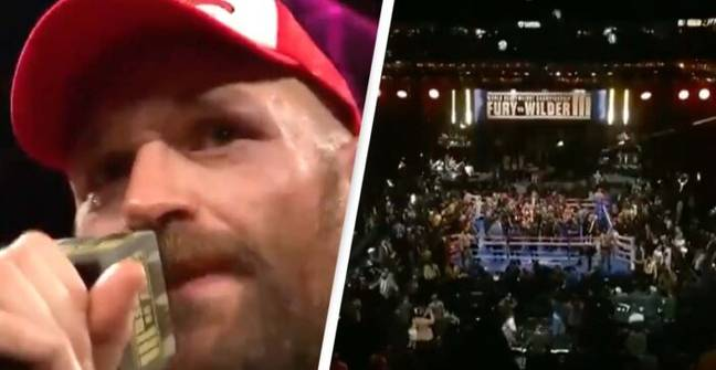 Tyson Fury Serenades Crowd With Iconic Version Of Walking In Memphis Following Victory