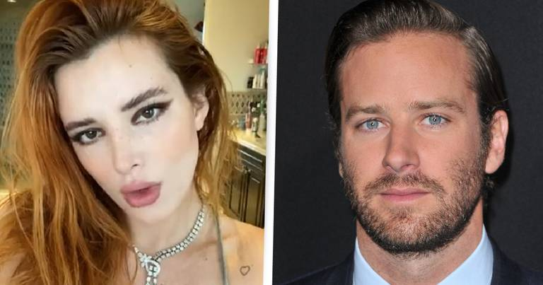 Bella Thorne Defends Armie Hammer Over 'Fake' Cannibal Fetish Accusations