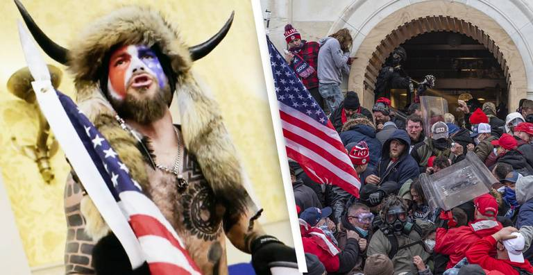 Photos Of People Who Invaded US Capitol Suggest Ties To Far-Right Movements