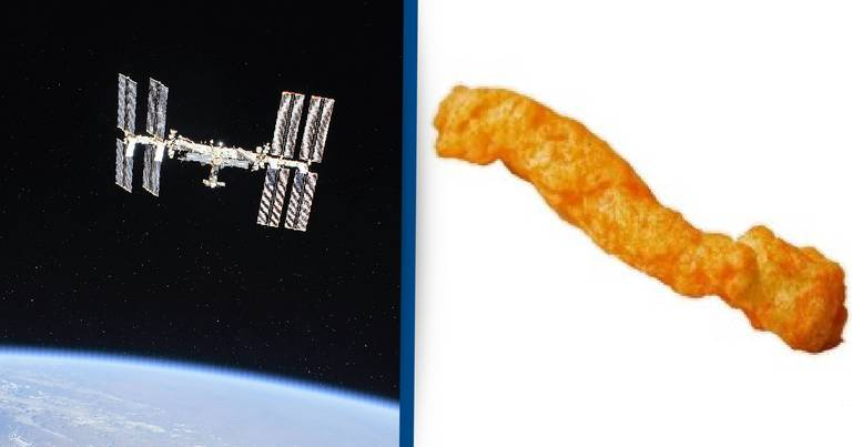 People Are Asking If One Single Cheeto Could Destroy International Space Station