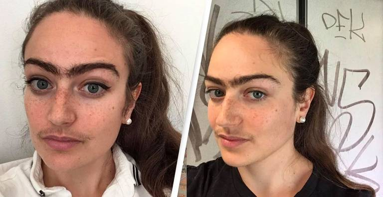 Woman Refuses To Shave Moustache Or Unibrow To 'Weed Out' Bad Dates