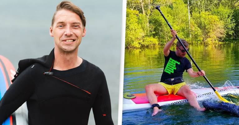 Man 'Retrained His Brain' To Pursue Passion Of Paddleboarding