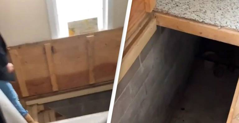Woman Pulls Back Carpet And Finds Secret Basement She Had No Idea Was There