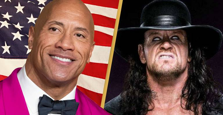 The Undertaker Says The Rock Could Unite America As President