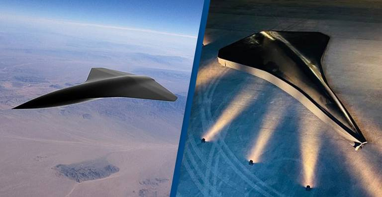 World's First Supersonic Unmanned Combat Drone Reaches Speeds Of Over 1,500mph
