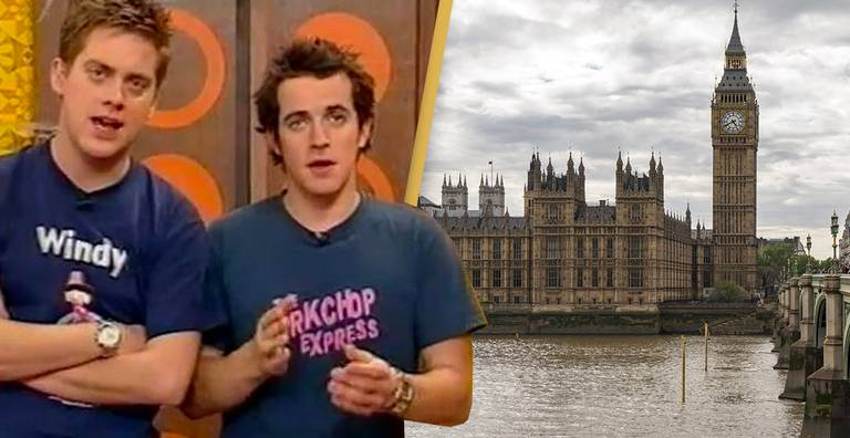 Dick And Dom Wanted To Play Bogies In Parliament But Worried They'd Be Arrested